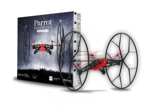 scatola minidrone parrot rolling spider