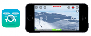 smartphone app freeflight3 per android e iphone per pilotare drone parrot minidrone rolling spider