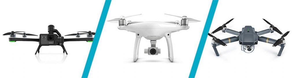 gopro karma vs dji phantom 4 vs dji mavic pro